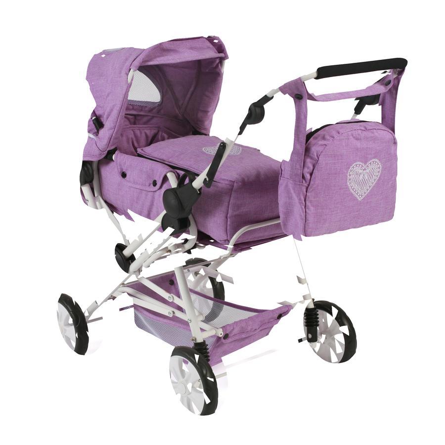 BAYER CHIC 2000 Wózek dla lalek ROAD STAR Melange