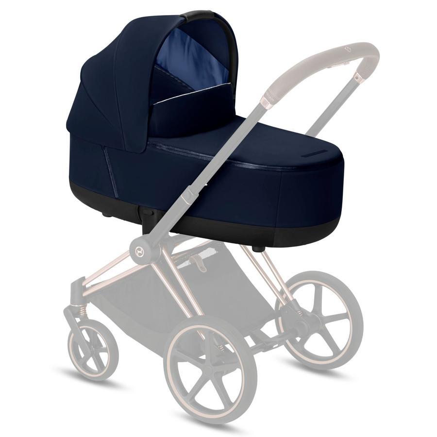 cybex PLATINUM Kinderwagenaufsatz Priam/ePriam Lux Carry Cot Indigo Blue