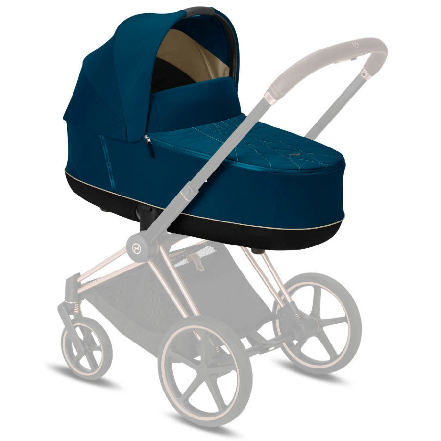 cybex PLATINUM Kinderwagenaufsatz Priam Lux Carry Cot Mountain Blue