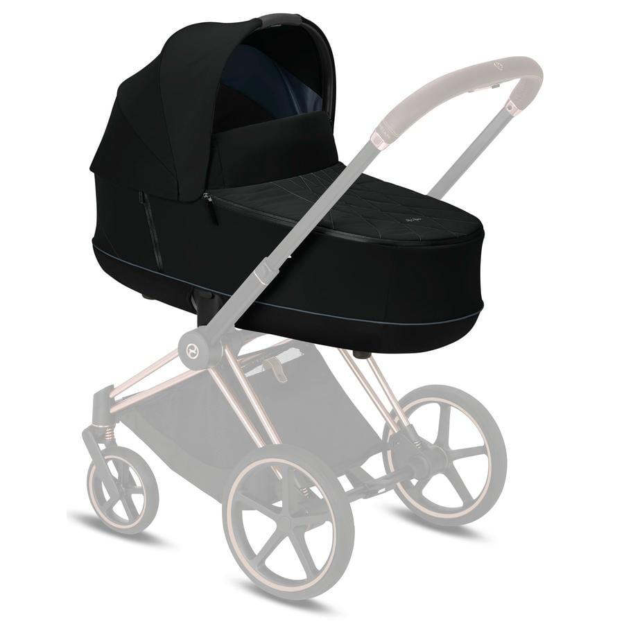 cybex PLATINUM Kinderwagenaufsatz Priam Lux Carry Cot Deep Black