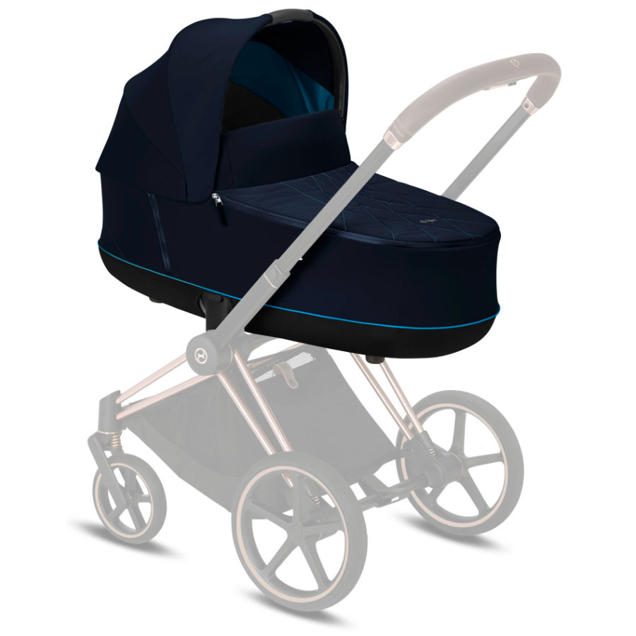 cybex PLATINUM Kinderwagenaufsatz Priam Lux Carry Cot Nautical Blue