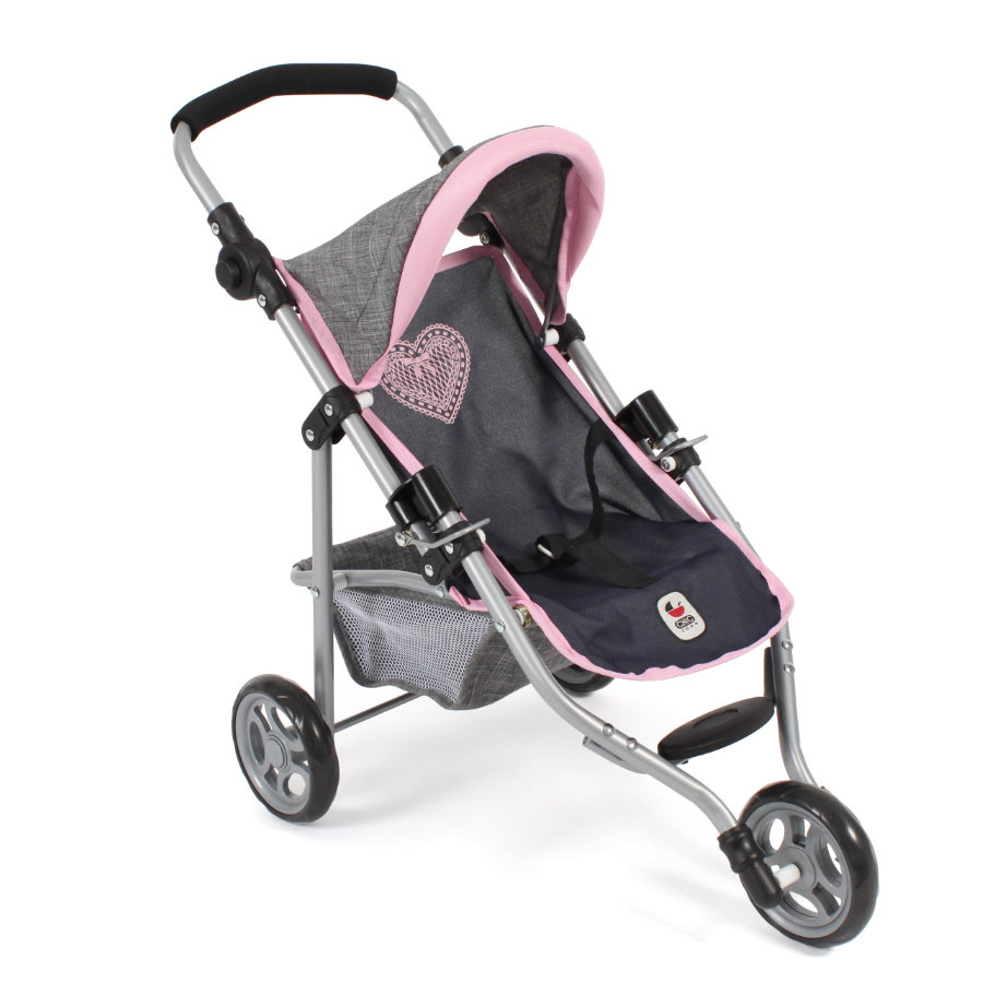 "BAYER CHIC 2000 jogging buggy ""LOLA"" melange grijs-navy"