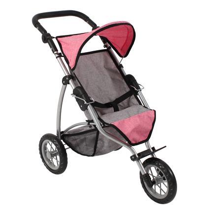 """BAYER CHIC 2000 Jogging-Buggy """"LEON"""" Melange pink"""