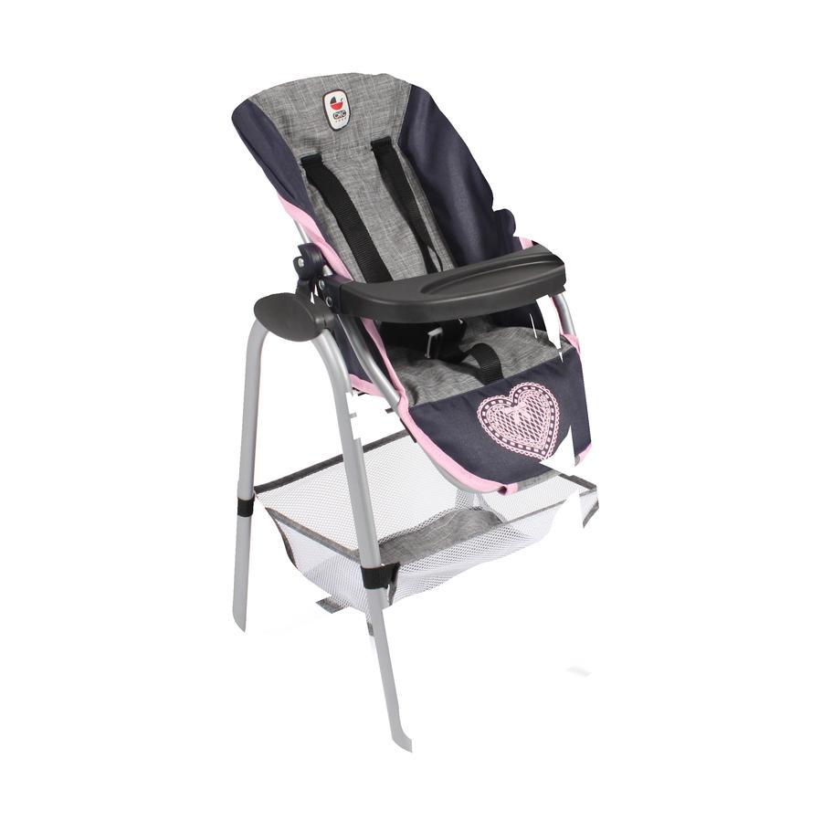 BAYER CHIC 2000 wysokie krzesło melanżowy szary pawilon