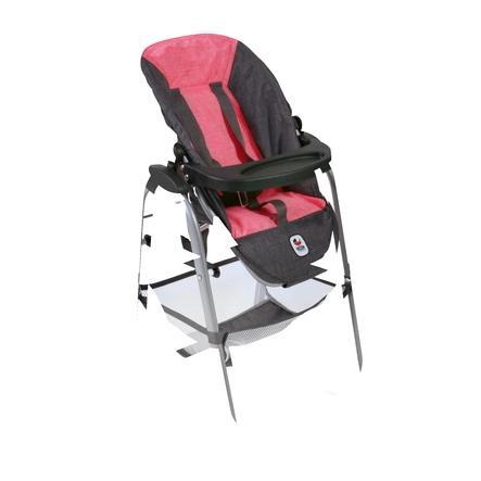 BAYER CHIC 2000 Wysokie krzesełko Melanżowy różowy antracyt
