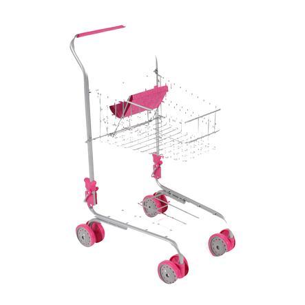 BAYER CHIC 2000 supermarked indkøbsvogn lyserød