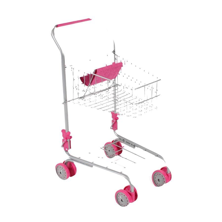 BAYER CHIC 2000 Caddie enfant avec siège poupée rose