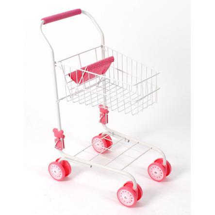 BAYER CHIC 2000 Supermarkt-Einkaufswagen helles pink