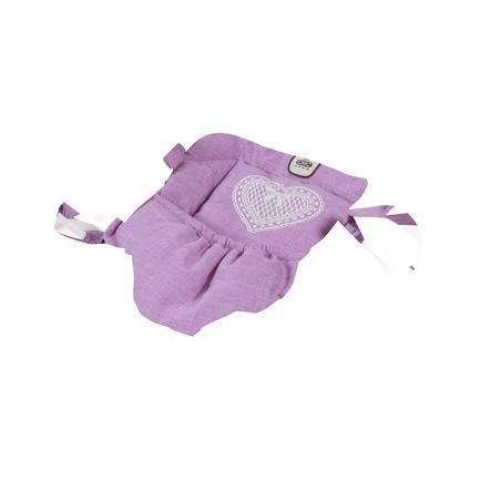 BAYER CHIC 2000 nosítko na panenky Melange Lilac
