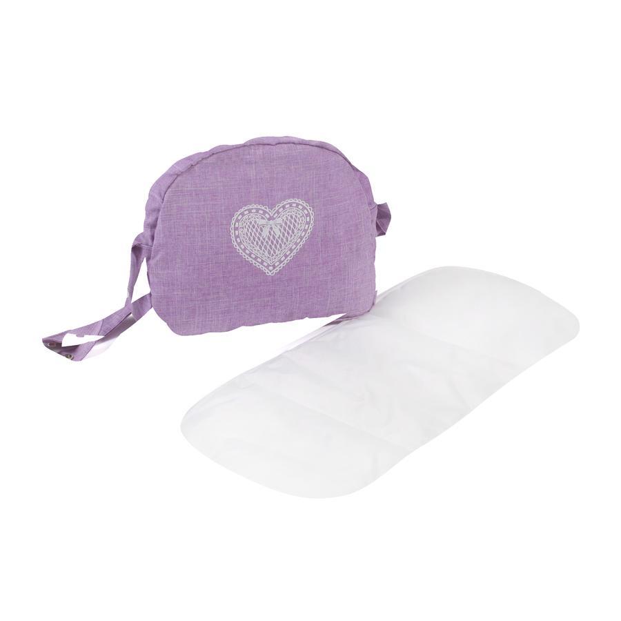 BAYER CHIC 2000 Přebalovací taška na panenky Melnage Lilac
