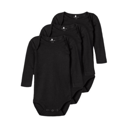 name it Body 3er Pack Black