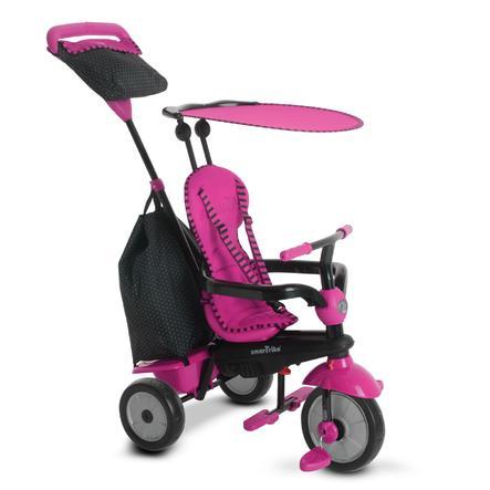 smarTrike® Glow Touch Steering® 4-in-1 Dreirad, pink