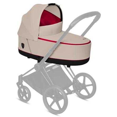 cybex PLATINUM Kinderwagenaufsatz Priam/ePriam Scuderia Ferrari - Lux Carry Cot Silver Grey