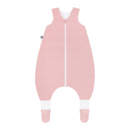JULIUS ZÖLLNER romper svetr Jersey Plus Tiny Squares Blush