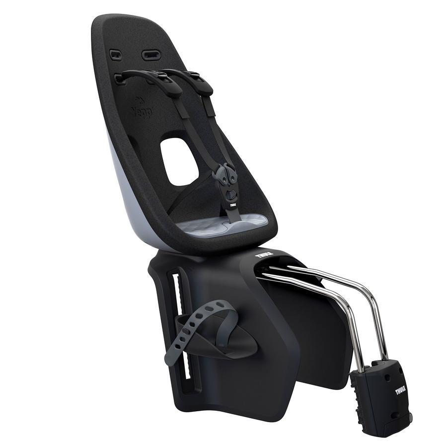 THULE Fahrradsitz Yepp Nexxt Maxi Momentum Grey mit Schnellspannhalterung