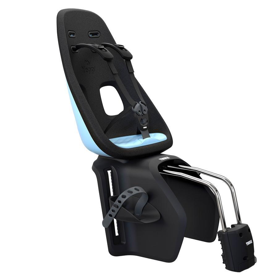 THULE Fahrradsitz Yepp Nexxt Maxi Aquamarine Blue mit Schnellspannhalterung