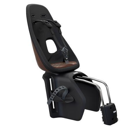 THULE Sillín para bicicleta Yepp Nexxt Maxi Chocolate Brown con soporte de liberación rápida