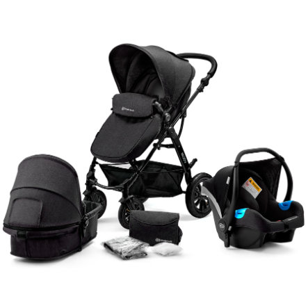 Kinderkraft Passeggino trio 3 in 1 Moov black
