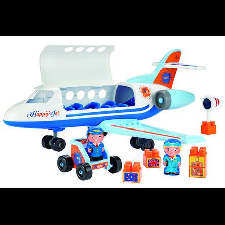 ecoiffier Abrick Flugzeug