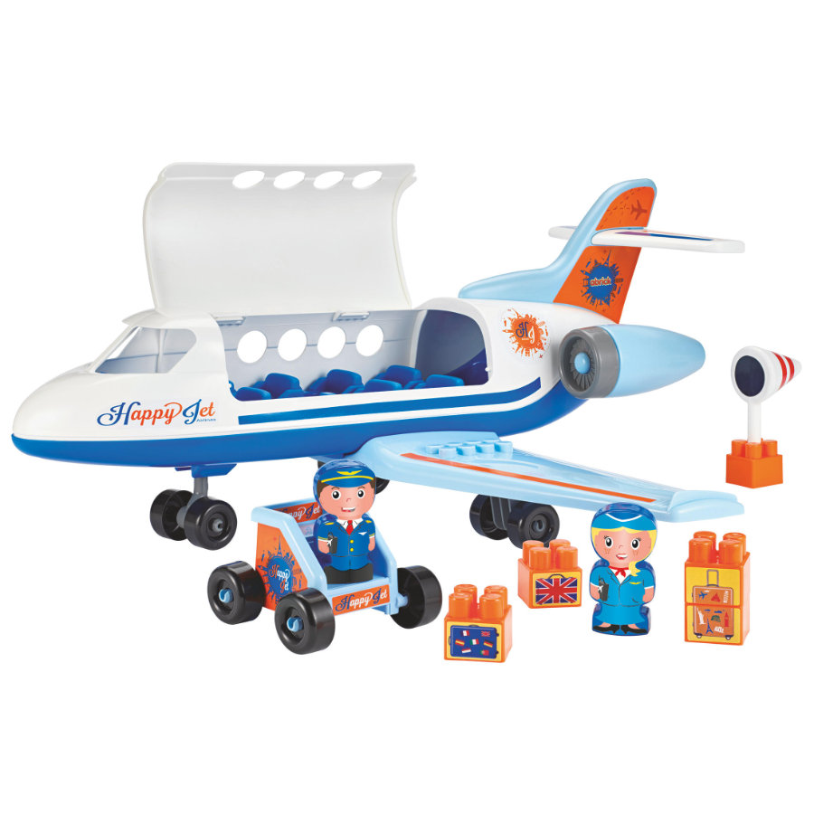 ecoiffier Abrick vliegtuig
