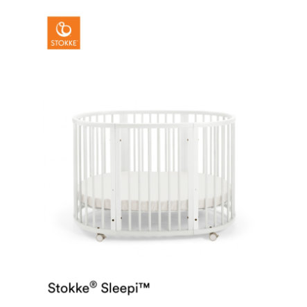 STOKKE® Sleepi™ Kinderbett weiß