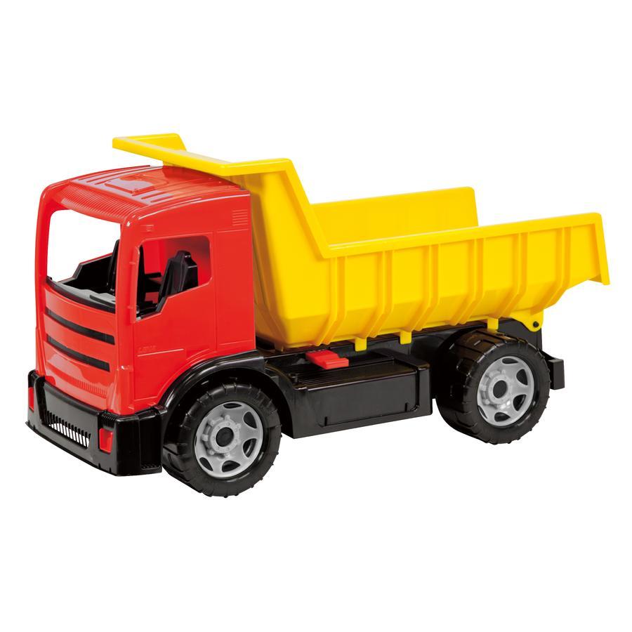 LENA® Camion benne enfant GIGA TRUCKS, rouge