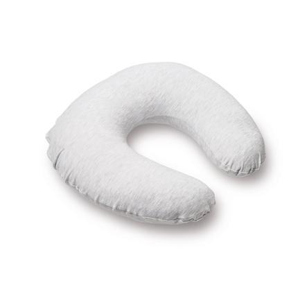 Doomoo Nursing Softy kojící polštářek Melange světle šedý