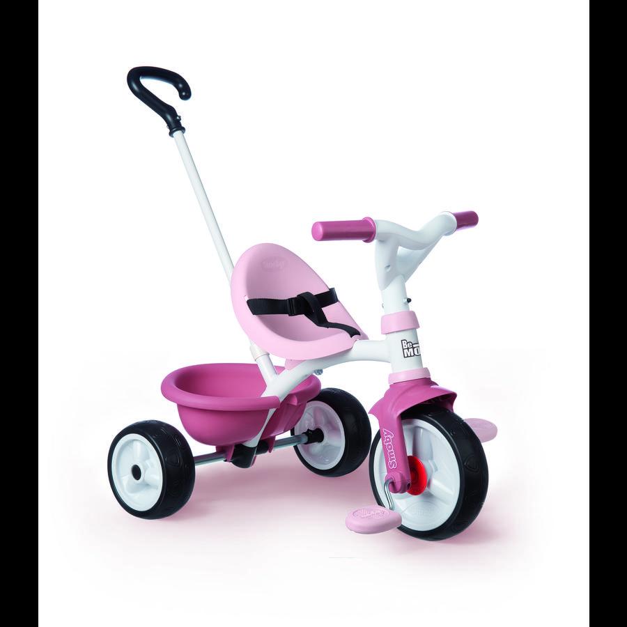 Smoby Be Move trehjulet cykel lyserød