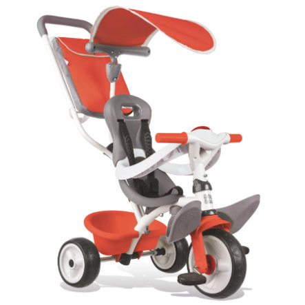 Smoby Tricycle évolutif enfant Baby Balade rouge