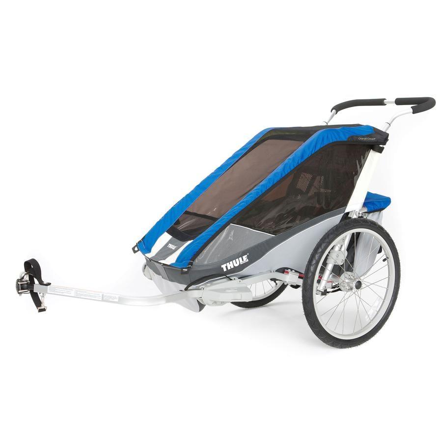 THULE přívěs pro dětské kolo Chariot Cougar 2 Blue
