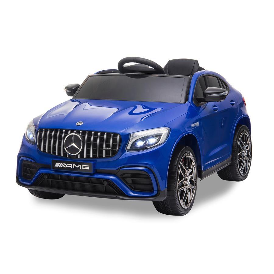 JAMARA Ride-on Mercedes-Benz AMG GLC 63 S Coupé 12V Blauw