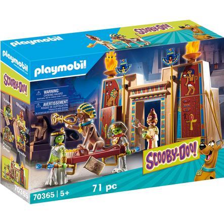 PLAYMOBIL® SCOOBY-DOO Figurine histoires en Egypte 70365