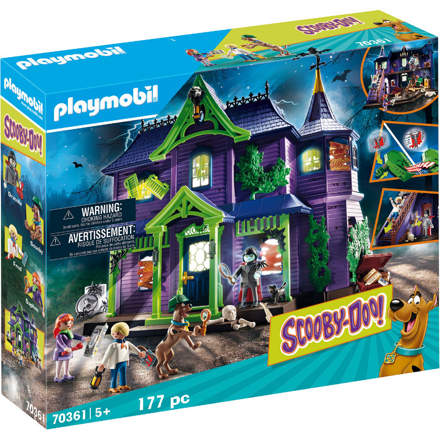 PLAYMOBIL® SCOOBY-DOO Abenteuer im Geisterhaus