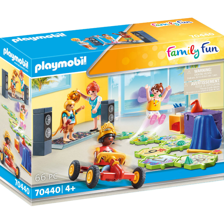 PLAYMOBIL® Family Fun Figurine club enfants 70440