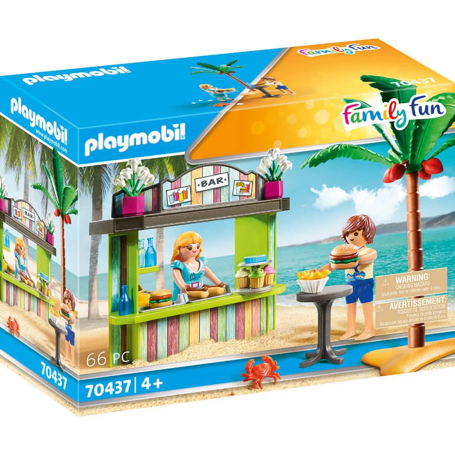 PLAYMOBIL  Kiosque de plage Family Fun