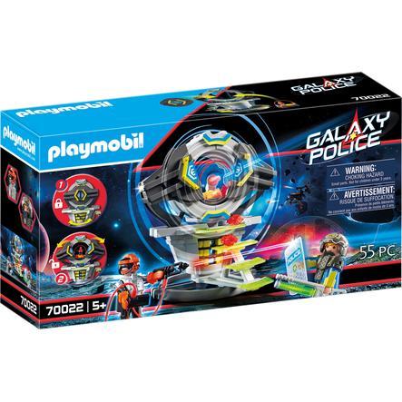 PLAYMOBIL  Galaxy Police - Trezor s tajným kódem