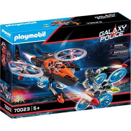 PLAYMOBIL ® Galaxy -poliisi - Galaxy Pirates-Heli
