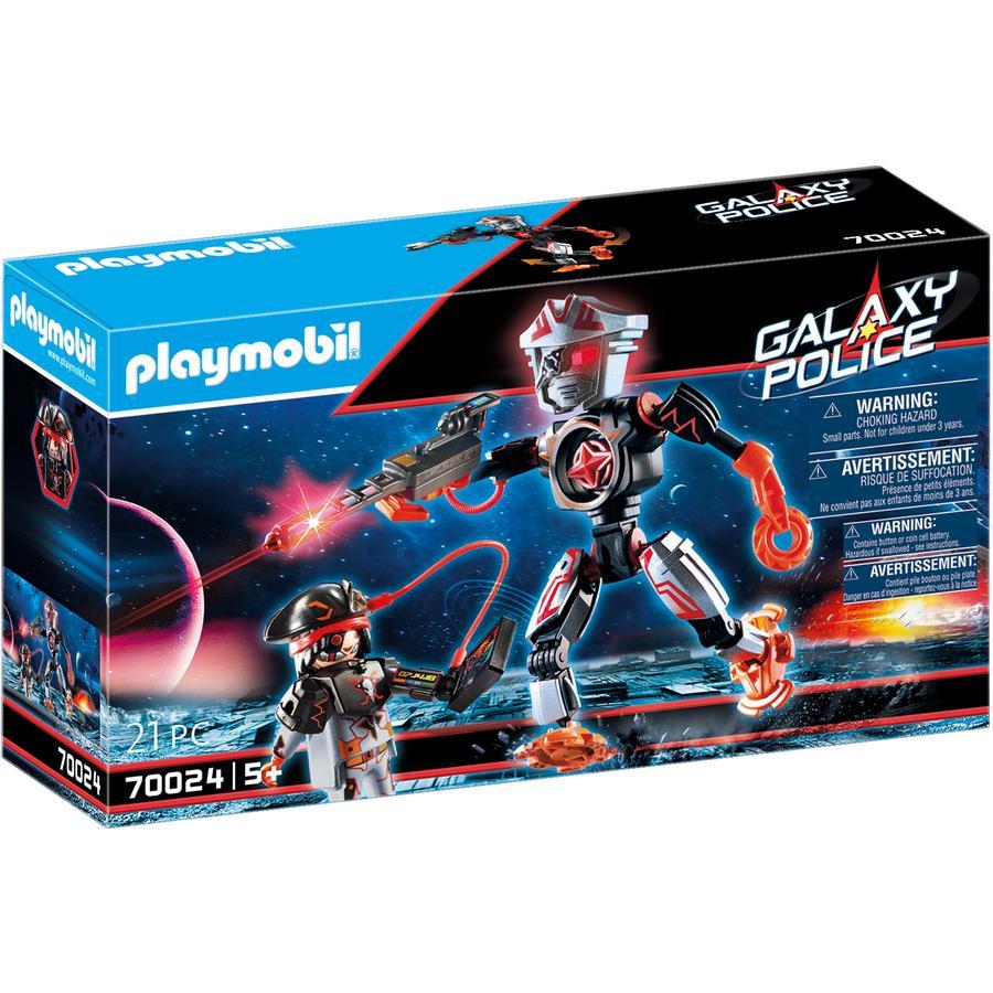 PLAYMOBIL ® Galaxy Police - Pirates Galaxy Robot