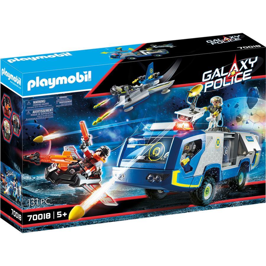 PLAYMOBIL Galaxy Police - Truck