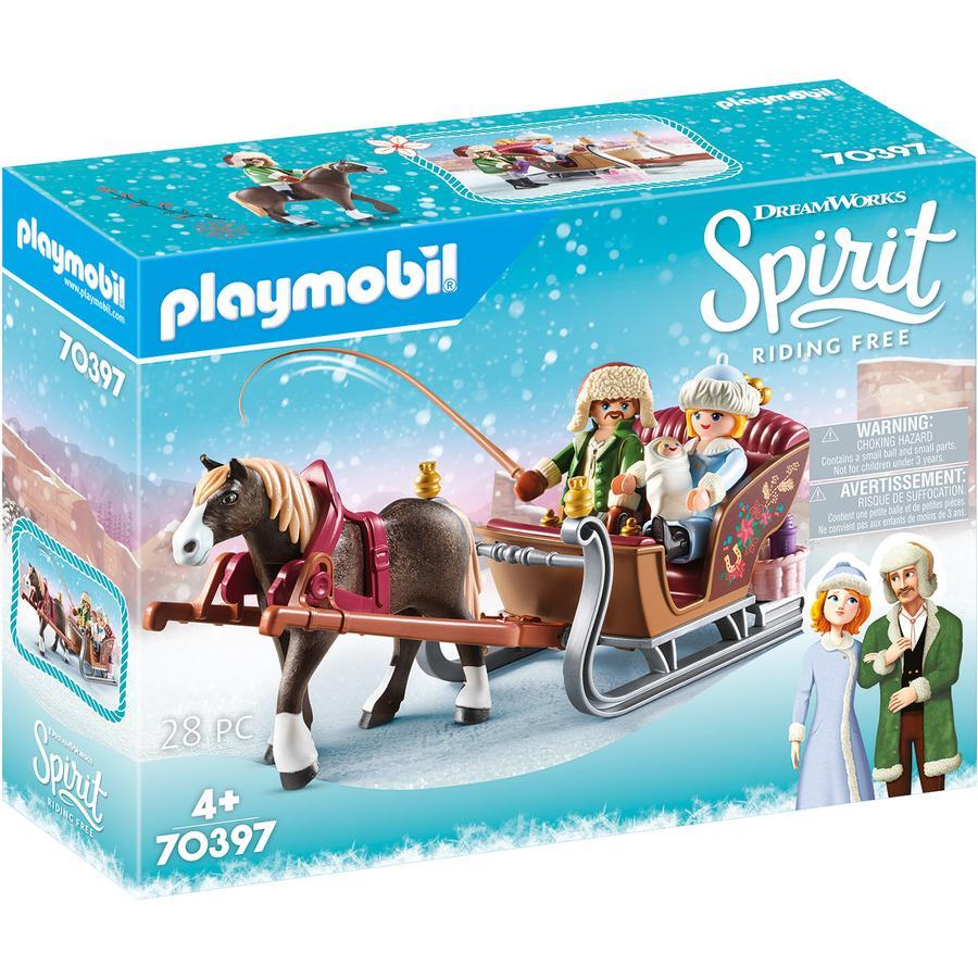 PLAYMOBIL  ® Spirit Rijden met een vrije winterse slede