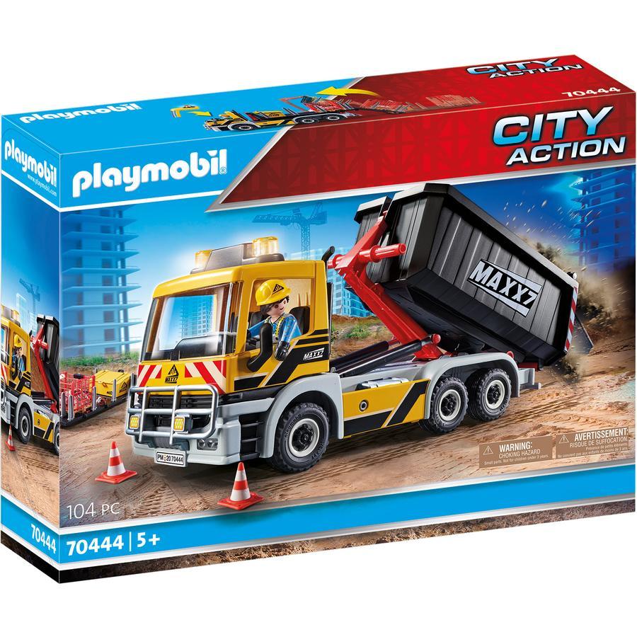 PLAYMOBIL® CITY ACTION LKW mit Wechselaufbau