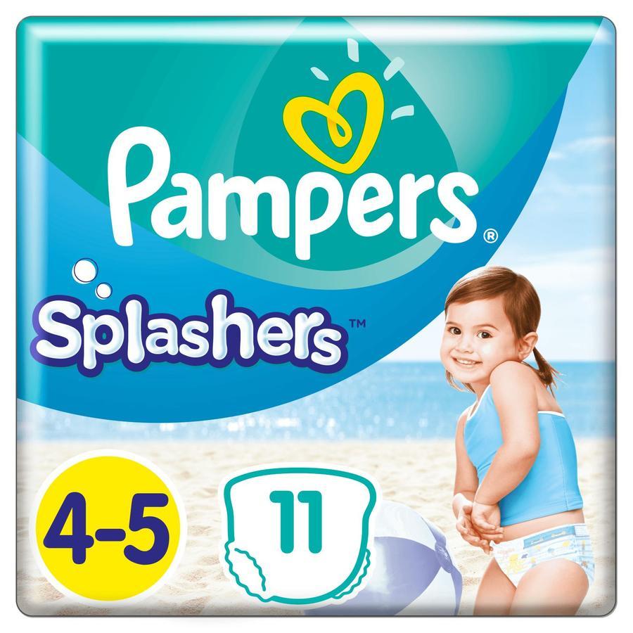 Pampers Splashers Größe4-5, 11Einweg-Schwimmwindeln