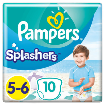 Pampers Splash ers størrelse 5-6, 10 engangsbleier