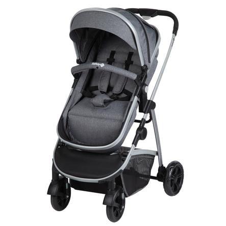 Safety 1st Carro de bebé Hello 2 en 1 Black Chic