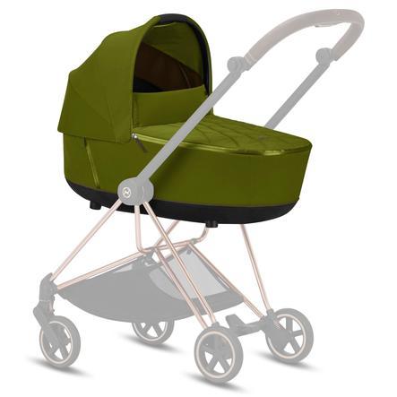 cybex PLATINUM Kinderwagenaufsatz Mios Lux Carry Cot Khaki Green