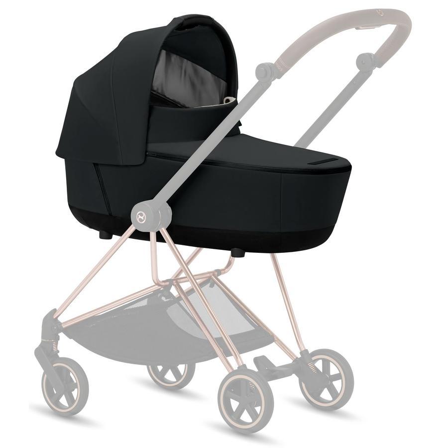 cybex PLATINUM Kinderwagenaufsatz Mios Lux Carry Cot Premium Black