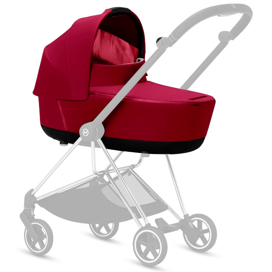 cybex PLATINUM Kinderwagenaufsatz Mios Lux Carry Cot True Red