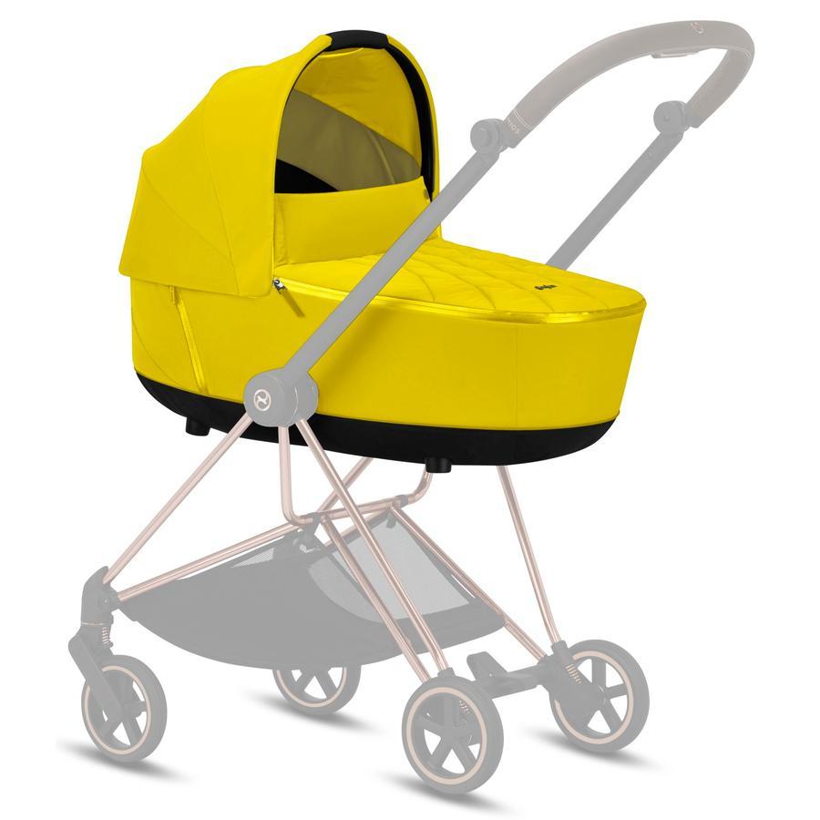 cybex PLATINUM Kinderwagenaufsatz Mios Lux Carry Cot Mustard Yellow