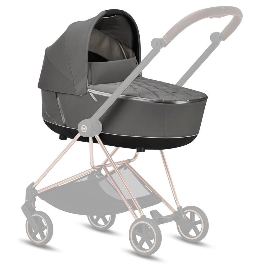cybex PLATINUM Kinderwagenaufsatz Mios Lux Carry Cot Soho Grey
