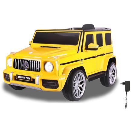 JAMARA Voiture électrique enfant Ride-on Mercedes-Benz AMG G 63 jaune